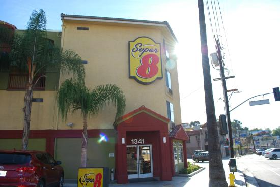 Eingangsbereich Picture Of Super 8 Los Angeles Downtown