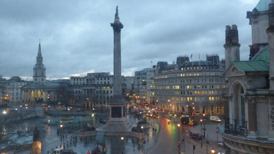 The Trafalgar Hotel : view from my room