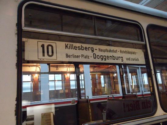 Strassenbahnwelt Stuttgart: der Bestimmungsort