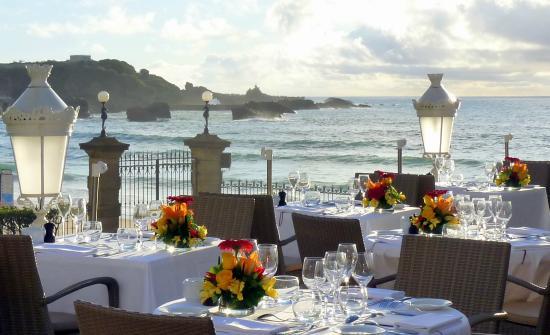 Hotel Du Palais Biarritz Restaurant Hippocampe