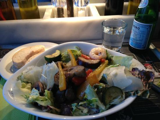 Vapiano: Salat Reef'n Beef :-)