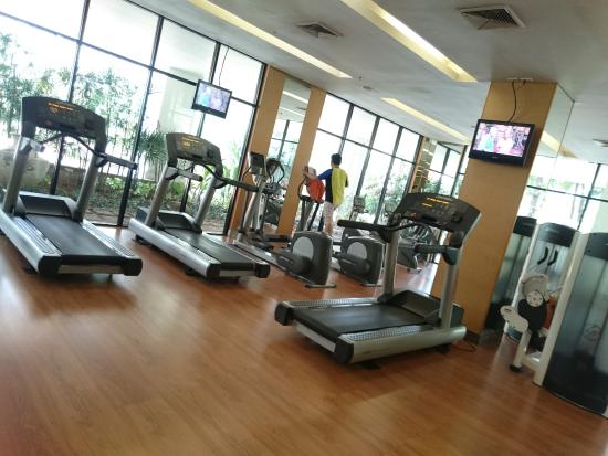 Gym room picture of shangri la hotel chiang mai