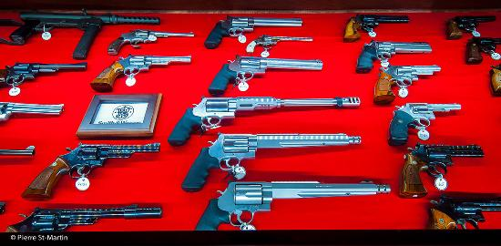 Musee canadien de l'Arme et du Bronze : Collection Smith&Wesson