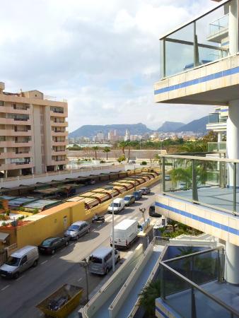 Apartamentos Hipocampos: Altea hills from the terrace