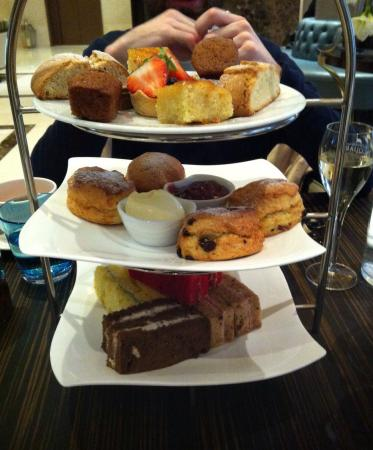 Afternoon Tea at The Montcalm London: sweet and savory stand