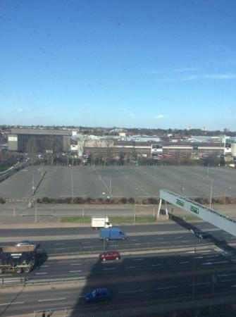 Holiday Inn London - Brent Cross: View of Brent Cross Shopping Centre from hotel room 7th Floor