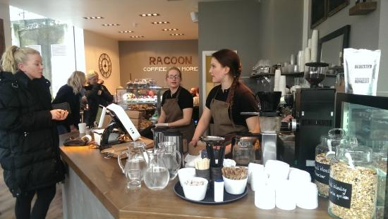 ‪Racoon Coffee & More as‬