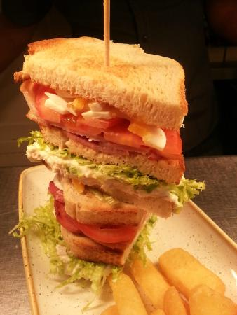 Oaksey, UK: Club Sandwich