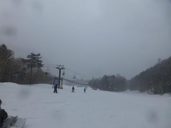 Nikko Yumoto Onesen Ski Resort: 緩斜面が続きます