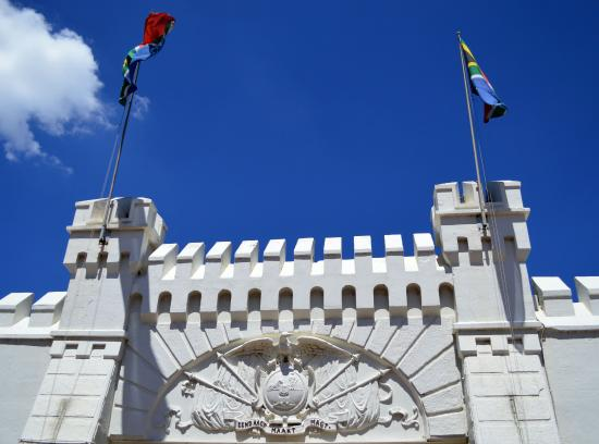 Johannesburg Fort: Blue skies above and Heritage below