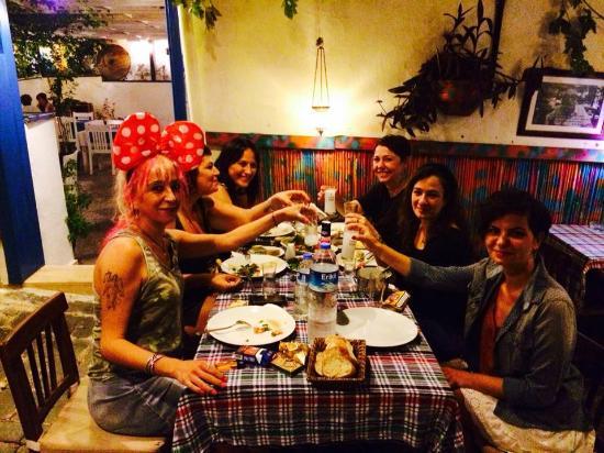 Hayta Meyhane Restaurant: Yaz halleri :)