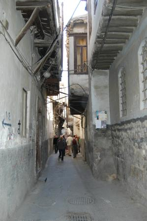 Damascus Center: het oude stadsgedeelte van Damascus