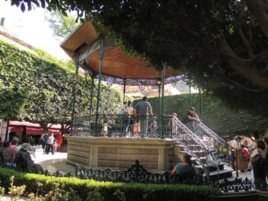 Jardin de la union guanajuato m xico fotograf a de for Jardin de la