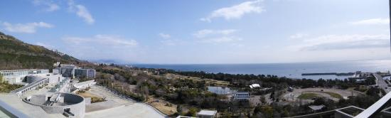 The Westin Awaji Island Resort & Conference Center: 部屋からの眺めです。海も見えて最高でした。