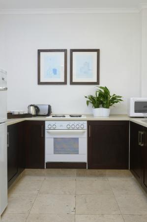 Ambassador Self-Catering Apartments: One bedroom kitchen