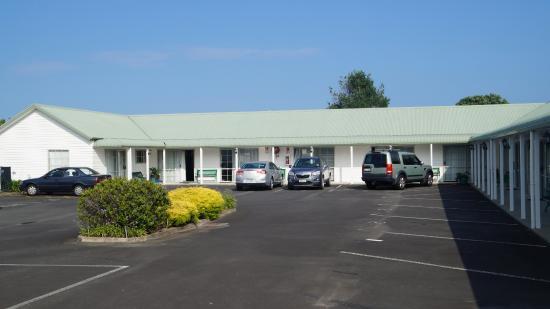 Blake Court Motel: parkeerplaats