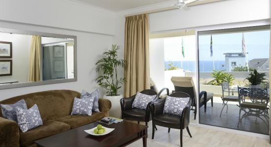 Ambassador Self-Catering Apartments: One bedroom apartment lounge