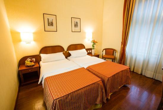 Hotel Kinsky Garden: twin room