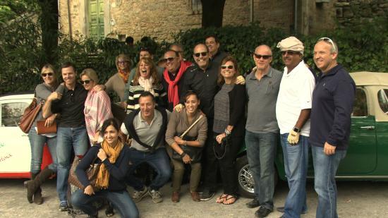 DelBrenna Jewelry : Our arrival to Cortona in vintage Fiats