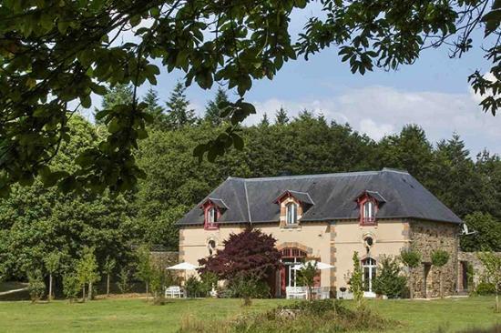 Château du Grand Val : La grande maison du parc