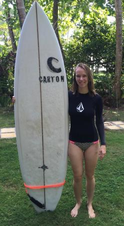 Carton the Surf Shop: Heidi and her fun fish