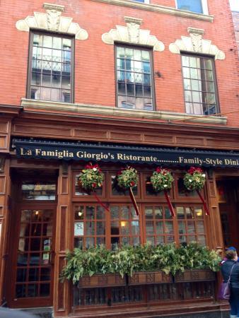 Great Family Restaurant Picture Of La Famiglia Giorgio S