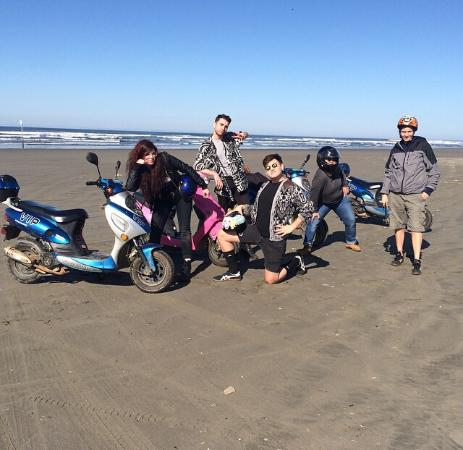 Ocean Shores, WA: ride or die