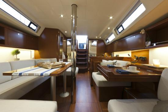 Go-Sail - Jersey Yacht Charter - Day Tours: Lady Catherine Interior