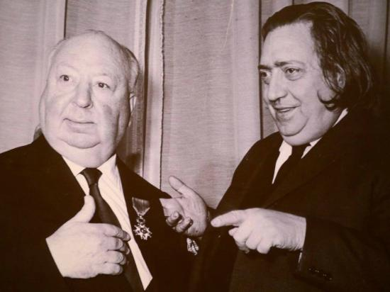 Paris, Prancis: Hitch and Langlois. If I really have to tell you who is who, you're no fan of movies.