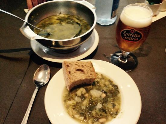 Hotel Carlos 96: Dinner - Traditional Caldo soup