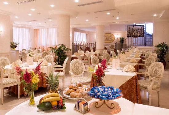 Trilussa Palace Congress & Spa: Breakfast Room