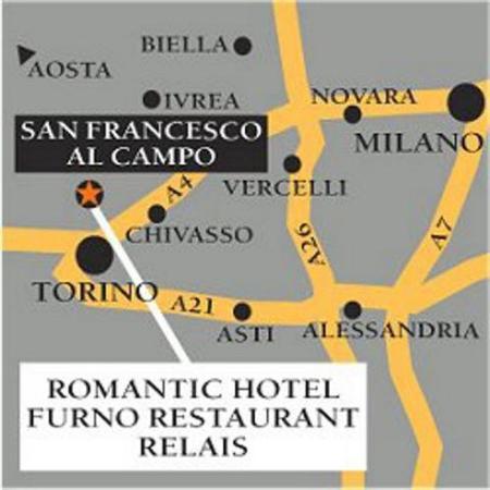 Romantic Hotel Furno: Area