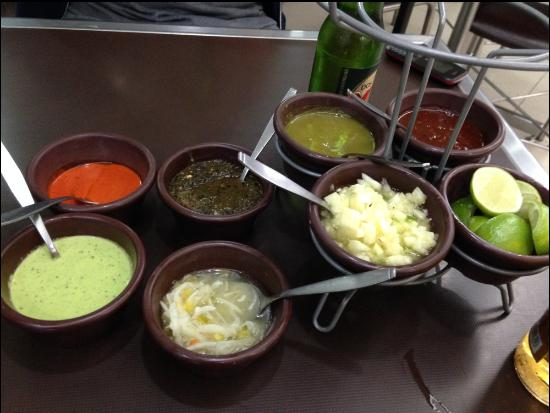 Tacos el Pata: Salsas!