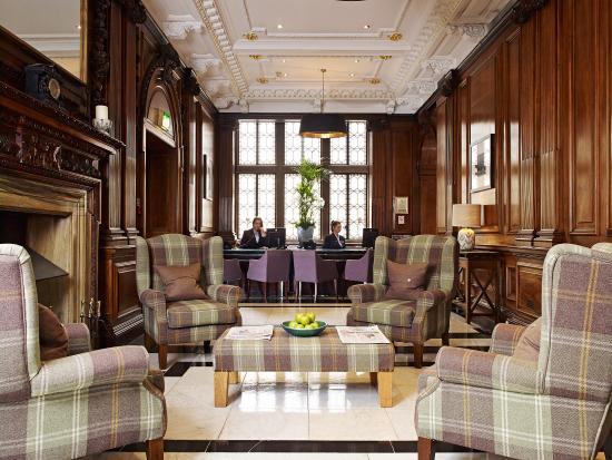 The Scotsman Hotel : Reception