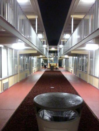 Celebration Suites: corredor de um dos lotes