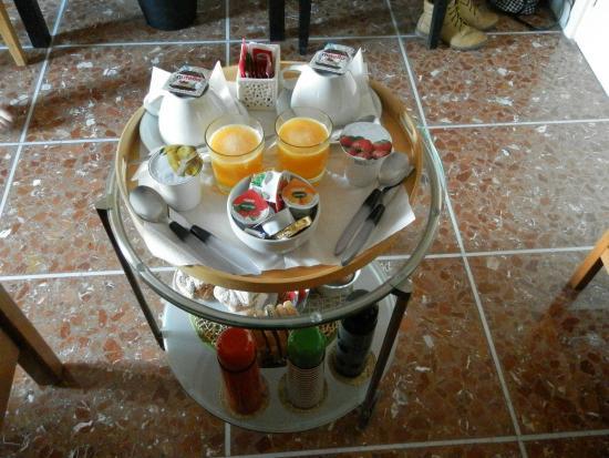 B&B Santa Croce: Petit déjeuner