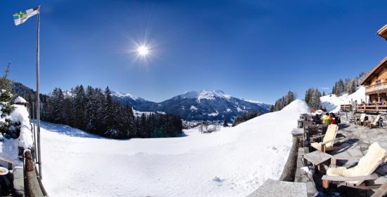 Berghaus Alpenrösli: Das Panorama spricht für sich