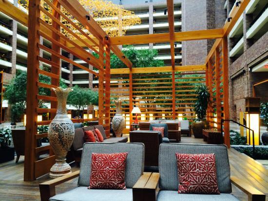 Hilton Anatole Lobby Atrium 1