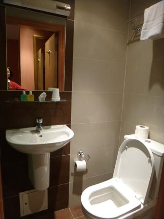 Castleton Hotel: Banheiro