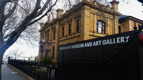 Tasmanian Museum and Art Gallery: Faixada do museu, já é bem bonita