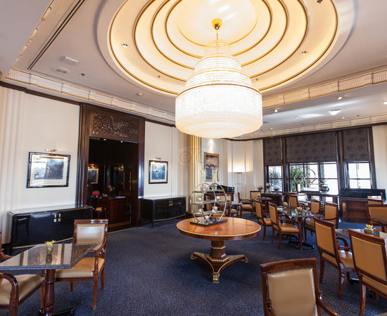 Royal Club Lounge at the Radisson Blu Hotel, Dubai Deira Creek