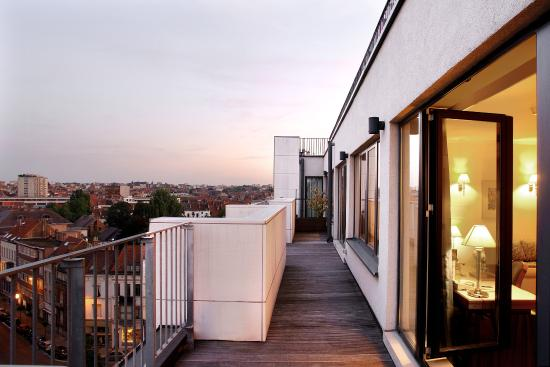 Le Chatelain Hotel : Roof Top - Suite