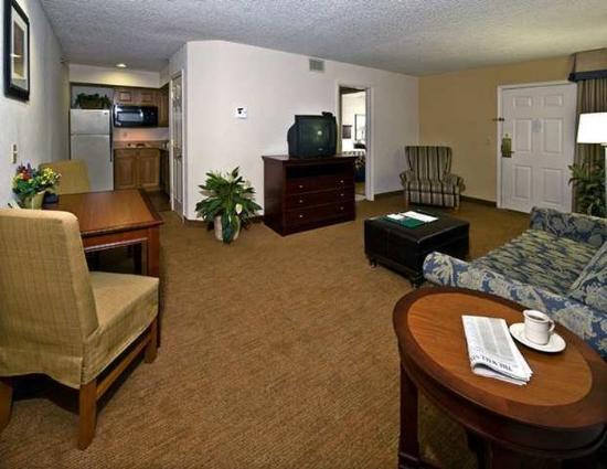 Homewood Suites by Hilton Memphis-Poplar : Suite Living Area