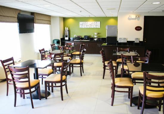 Sleep Inn Matthews - Charlotte : Breakfast Room
