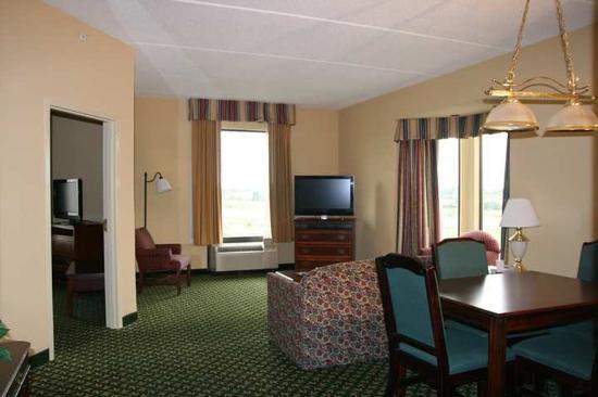 Hampton Inn Louisville-Northeast: Suite