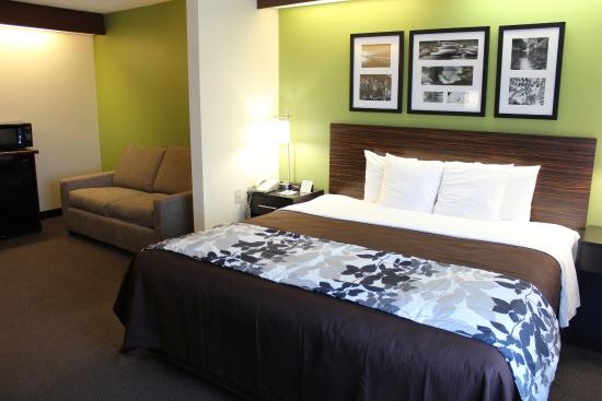 Sleep Inn Matthews - Charlotte : King Suite