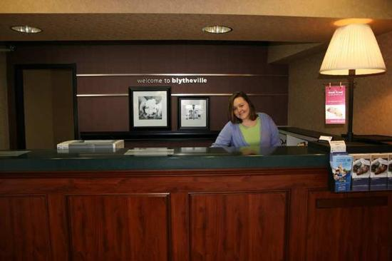 Hampton Inn Blytheville: Lobby