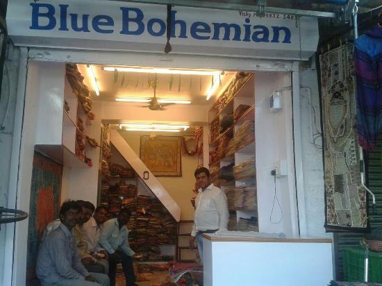 Blue Bohemian