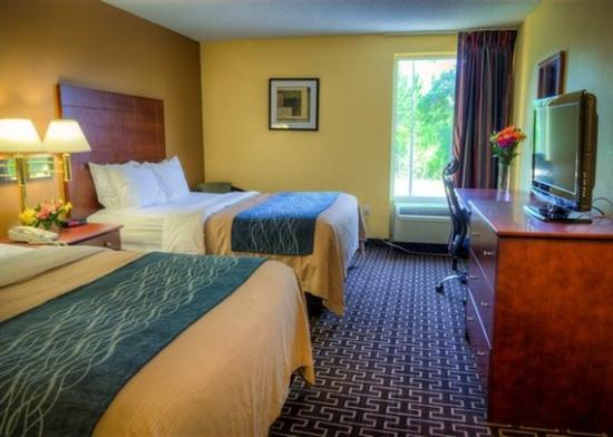 Milton Inn and Suites : guest room