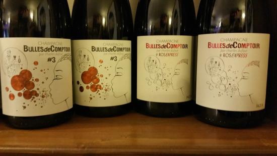 Wine Wine: Bulles de comptoir